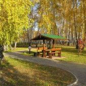 """Осень в санатории """"Урал"""""""