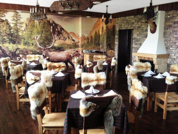 Ресторан Волчье логово. Увильды